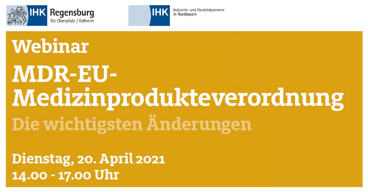 IHR Seminar MER-EU Medizinprodukteverordnung